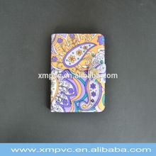 Fashion various color soft clear pvc card holder XYL-Z-CC013