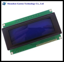 LCD Panel 5V Blue Backlight 20 x 4 Lines White Character LCD Module LCD2004 Display Transparent lcd display