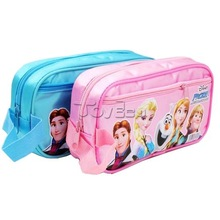 Newest Europe and America Hot Selling New Design Pencil Box Frozen Elsa wholesale