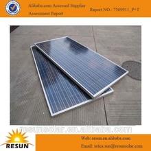 2014 New model panel solar panel price