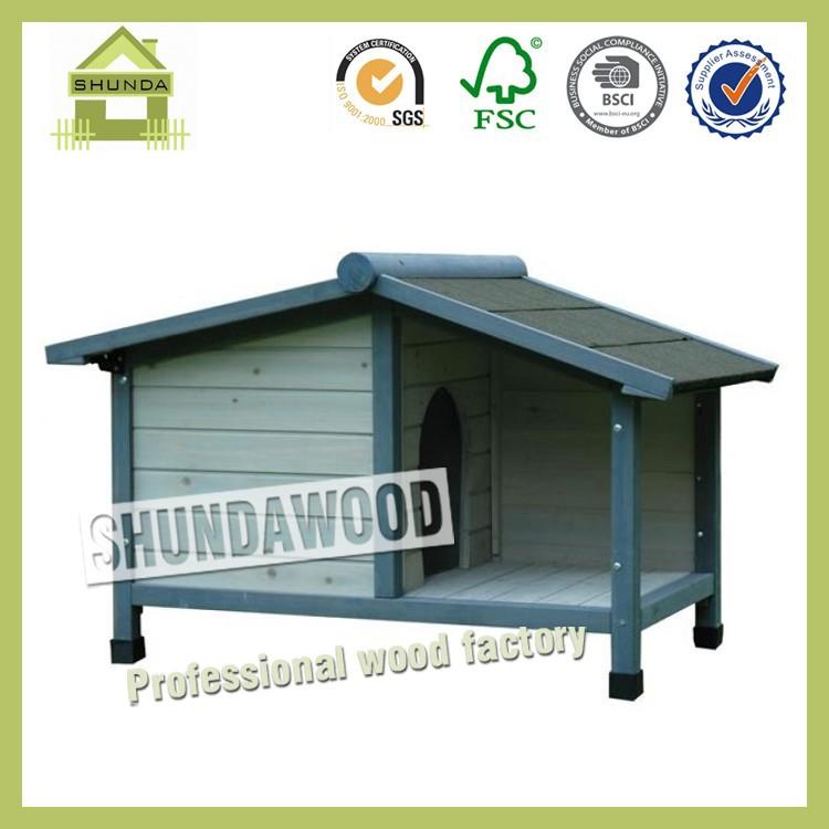 SDD09 Customized Wooden Handmade Dog Kennel
