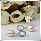 Pearl earrings designs for girls/pearl earring stud designs