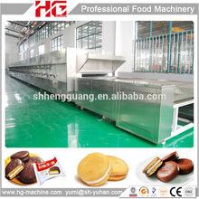 Newest design tunnel oven sandwich cake maker manufacture