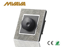 2014 new design Leather panel light dimmer switch, 240V CE approved