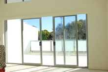 Australia Standard aluminium track for sliding door with Double Glazing Glass