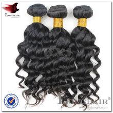 Deep Wave Humain Hair Weave For Black Women