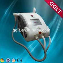 Portable IPL + RF + Elight + ND yag laser 4 in 1 multifunctional