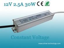 High quality CE RoHS EMC LVD 5050 smd led strip power supply, 220v 12v ac/dc led transformer, 12v led power supply 30w