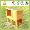 SDR01 Cheap Wooden Ferret Cages Rbbit Cages Wholesale