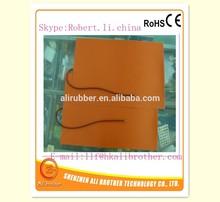 Custom Size .Voltage.Watt.Shape Free design Melting Snow /Ice Silicone Heater Mats/Blanket/Film
