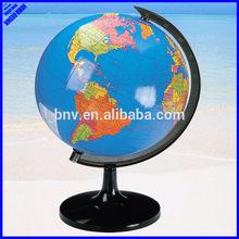 Quality educational 214mm rotating world globe