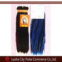 Micro Braid Hair Weft, Heat Resistant Fake Hair,100% Japan Synthetic weaving
