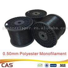 0.50mm for Black Nylon Teeth Polyester Monofilament Yarn