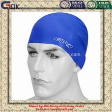 Personality waterproof novelty silicone swim cap