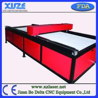 Portable CO2 MDF / Maple plywood die board / Wood laser cutting machine