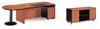 hot selling design model 3253 wood veener modern office desk set