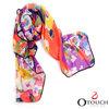 Custom design top quality digital printed fashion silk scarf