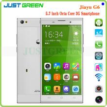 unlocked smartphones!Jiayu G6 Octa Core MTK6592 Android 4.2 Mobile Phone 5.7 inch 2GB RAM 32GB ROM 13MP NFC OTG
