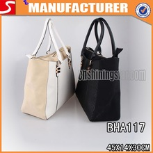 New Arrival Hot Saling Genuine Python Snake Skin Handbag, classic pu leather tote bag Manufacture