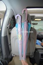 2014 Popular style waterproof foldable pvc car seat back bag for umbrella
