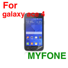 China supplier mobile phone accessory high clear screen protector For galaxy ace 4