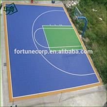 Outdoor Interlocking Basketball Plastic Flooring