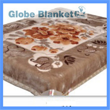 mink Blanket with throw pillow for baby
