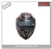 Applique flip up vintage motorcycle helmet