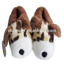 Cheap fluffy animal warm winter women indoor slipper