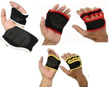 Neoprene Weight Lifting Grips Training Gym Straps Gloves Hand glove