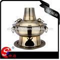 De acero inoxidable de la tradicional olla caliente / fuego