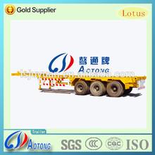 3 Alexs 40ft skeleton container transport trailer(Axles optional)