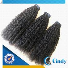 top selling natural looking cheap hair weave 100% virgin brazilian afro kinky human hair