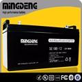 seco de la célula de la batería 12v 100 ah de la batería solar