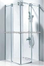 Stainless Steel Sliding Glass Shower Door Hardware/Shower Room System