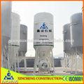 mortero de cemento de mezcla de los silos de almacenamiento utilizado en el hormigón de la planta de procesamiento por lotes