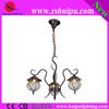 lotus shape glass chandelier lightings household design lamp