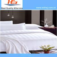 Cheap CVC Poly Cotton Bleach Stripe Fabric