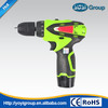 10.8V Lithium battery cordless drill,battery charge screwdriver tool set