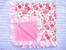 fashion design baby blanket heavy cotton blanket
