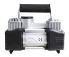 12v Car Tyre Air Compressor Inflator & Detachable Pressure Gauge