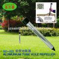 Sd-022 repelente de ratón de campo repeler plagas con tubo de aluminio