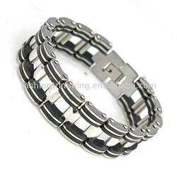 Men's slap bio magnetic titanium bracelet