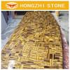 HONGZHI Wholesale Natural Stone Price Of Decorative Yellow Tiger Eye Granite
