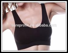 Double seamless adjustment type sports bra wireless free Yoga bra underwear genie bra
