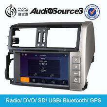 car dvd for new toyota land cruiser prado car gps navigation touch screen HD video lossless music radio sd usb car stereo