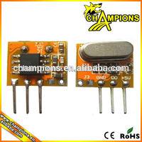 small size Wireless Super Regenerative Rf Remote Control Receiver AG-RXB14