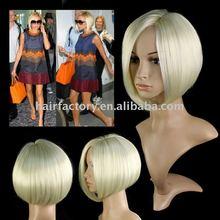 2012 new celebrities style fashion wigs wholesale