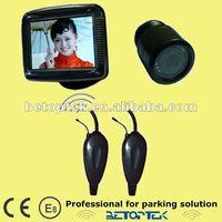 Wireless car parking sensor camera, 2.4GHz frequency