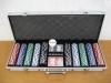 500 poker sets with aluminum case